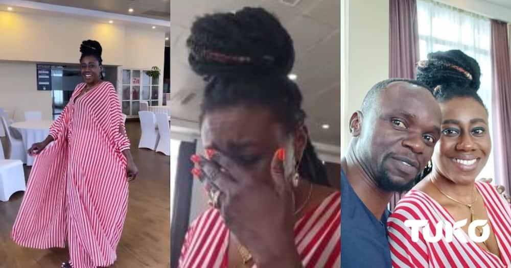 Wilbroda breaks down in tears remembering Papa Shirandula.