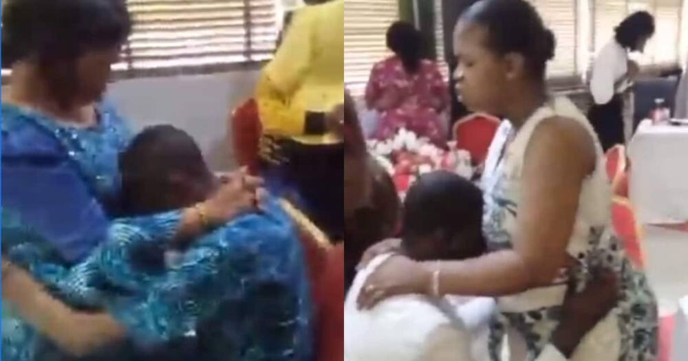 The women resorted to prayers to bar their husbands from preying on young girls.