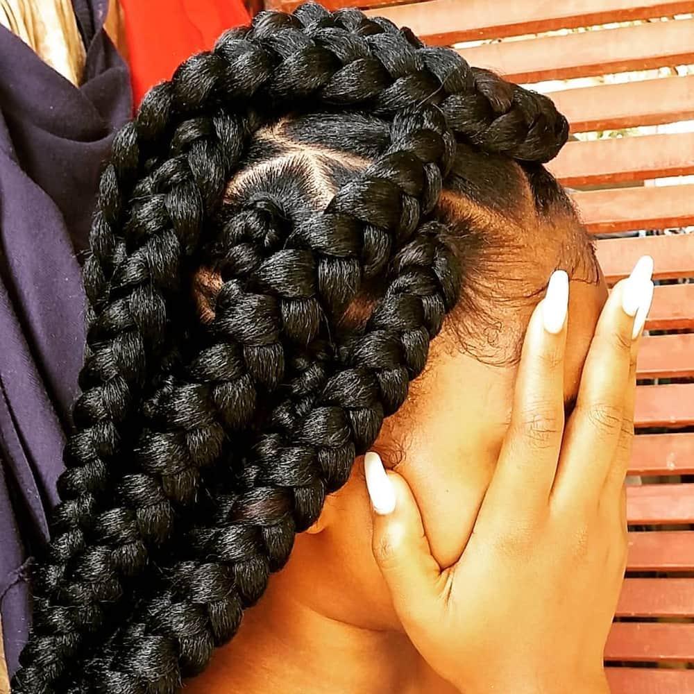 Big box braids