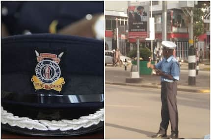 Nairobi traffic officer melts hearts with his extra-ordinary dedication to work