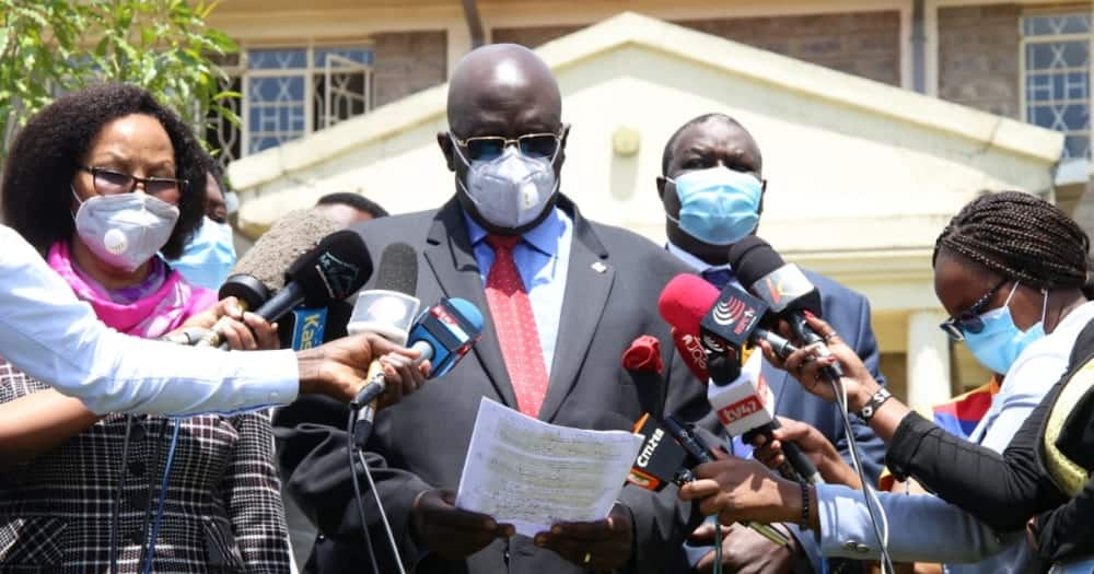 """CS Magoha Admits KCSE Agriculture Paper 1 Leaked: """"We Are looking for Culprits"""