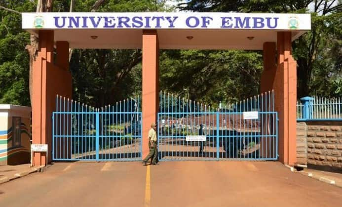 University of Embu - courses offered and fees payable