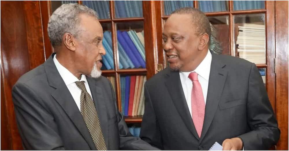 Kupukutika kwa Yusuf Haji ni pigo kwa BBI, Uhuru Kenyatta