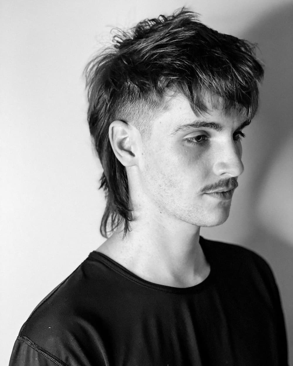 Edgar haircuts with mullet