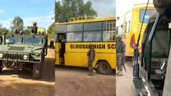Laikipia: Police Commandos in Armoured Cars Escort Learners Home as Schools Close