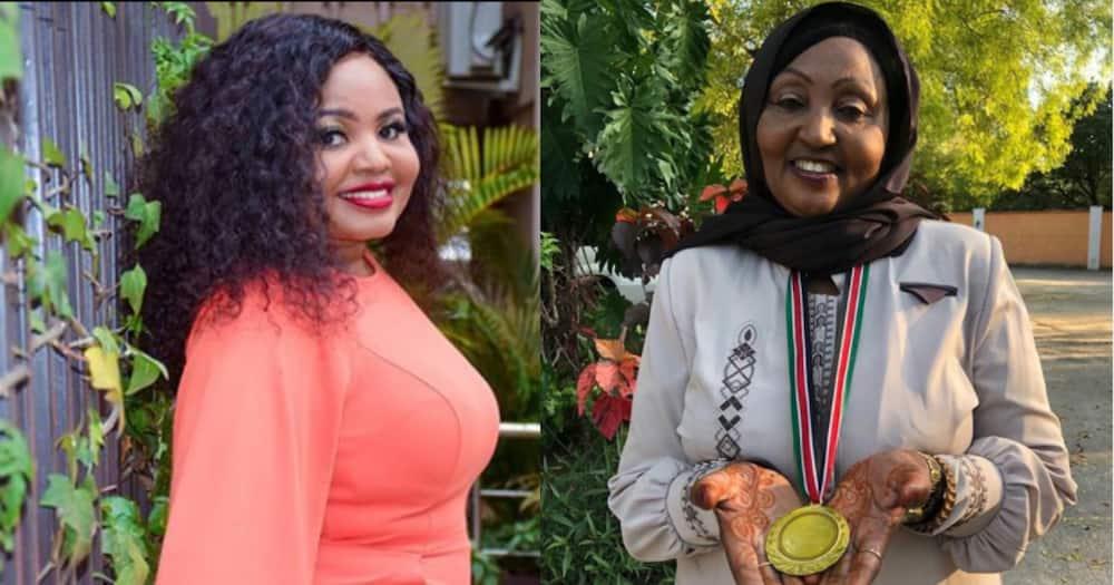 Mwanaisha Chidzuga celebrates politician mum, refers to her as hero
