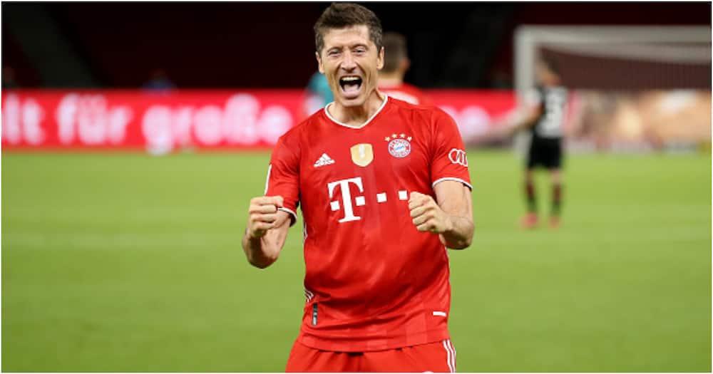 Chelsea Kumsajili Fowadi Wembe wa Bayern Munich Robert Lewandowski