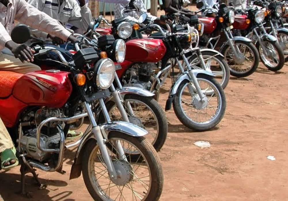 Boda boda riders. Photo: The Standard.