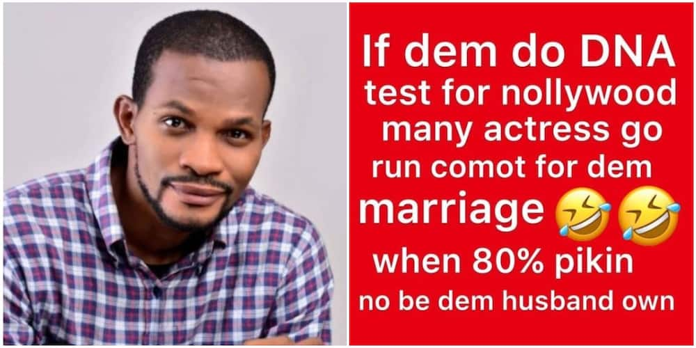 Actor Uche Maduagwu Claims 80% of Nigerian Actresses Have Illegitimate Children for Their Husbands