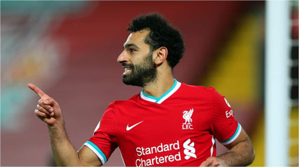 Mohamed Salah becomes Liverpool's all-time record Champions League goalscorer with 22 goals