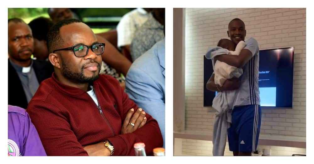 You don't have to apologize for siring a child, Silas Jakakimba tells Samidoh