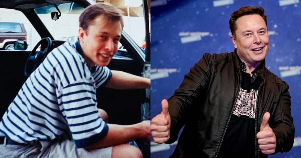 Musk, memory, fixing car himself, broke
