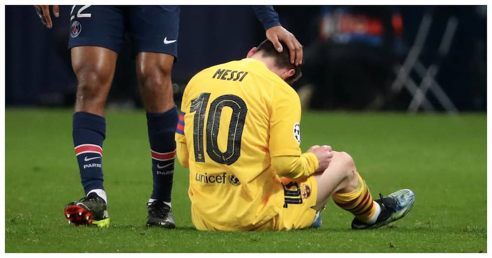 Ronald Koeman discusses Messi's future after Champions League exit