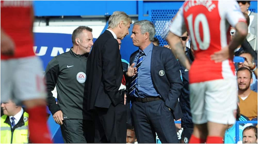 Jose Mourinho claims he understands why Arsene Wenger failed to mention him in new book