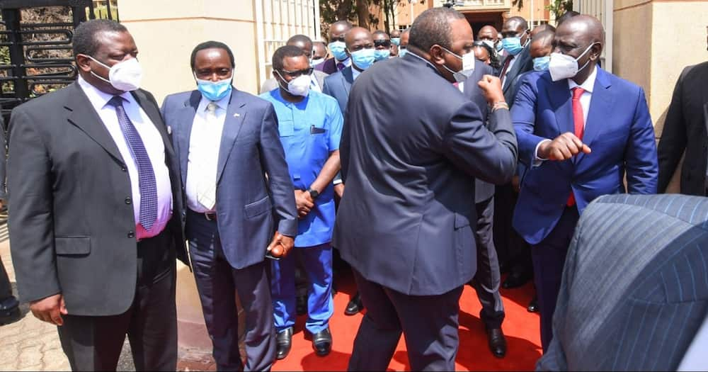 National Prayer Breakfast: Four Photos Reigniting UhuRuto Bromance When They Got Elected