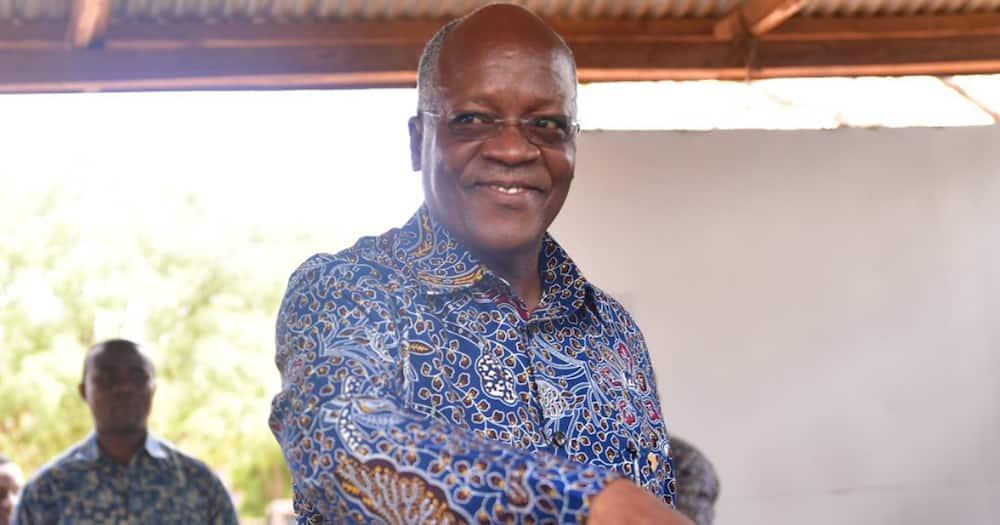 John Pombe Magufuli.
