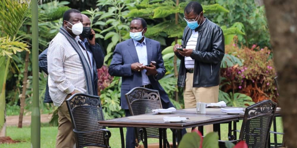 One Kenya Alliance co-principals in a past meeting.