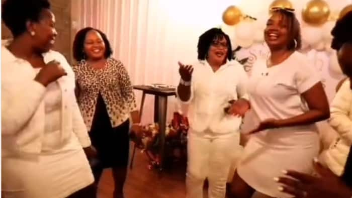 Anne Waiguru, Karen Nyamu Amazingly Dance to Zuchu's Sukari Hit During CAS Rachel Shebesh's Birthday