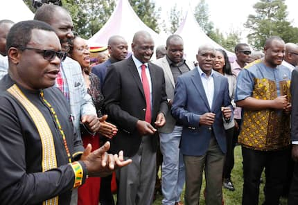William Ruto entices Luhya leaders to back him in 2022 after Raila lunch