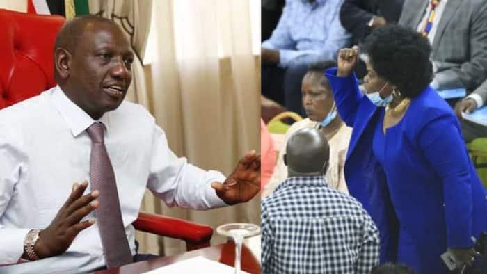 Mbunge Millie Odhiambo akanusha alimkaripia DP Ruto ukumbini Bomas