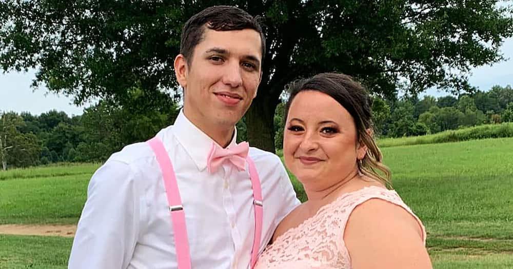 Samantha Wendell and her fiance Austin Eskew.