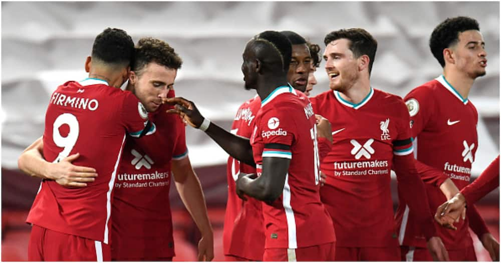 Record-breaker Diogo Jota on target as Liverpool stun Leicester to go second