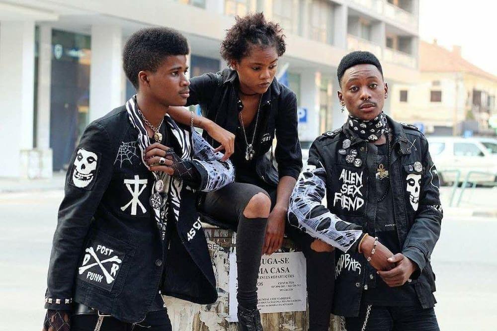 black punk bands