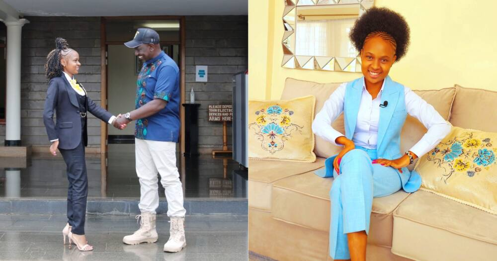 Brightstar Kayoka is a fashion designer with a shop in Nairobi's Central Business District.