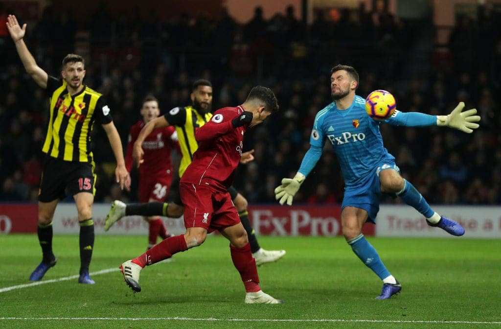 Mo Salah, Firmino on target in Liverpool 3-0 victory over Warford
