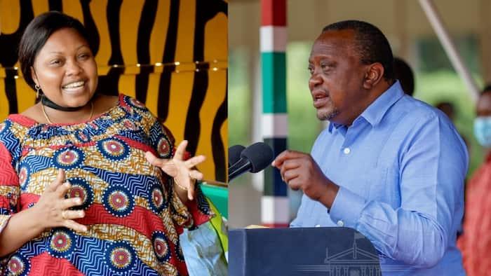 Millicent Omanga Asema Uhuru Kenyatta Amewaangusha Wakenya