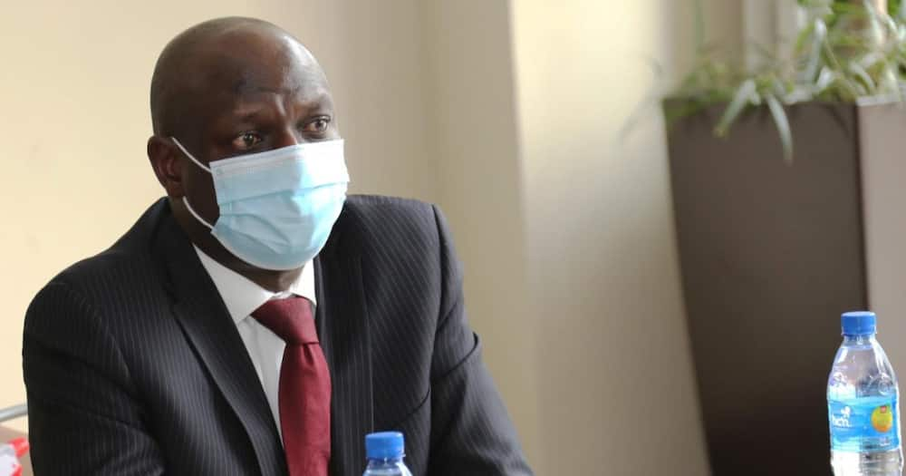 Charles Keter declined Senate summons on Tuesday, Sep 21.
