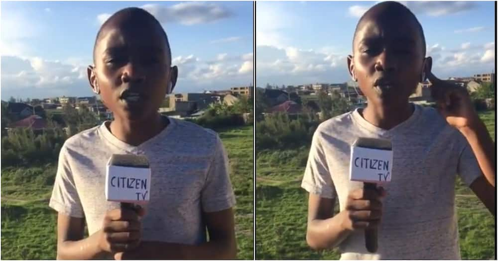 Citizen TV yamtafuta kijana aliyepepea mitandaoni kwa ustadi katika kuripoti