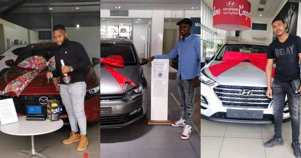 Friendship Goals: 3 Friends Flex Hard by Buying Cars at the Same Time
