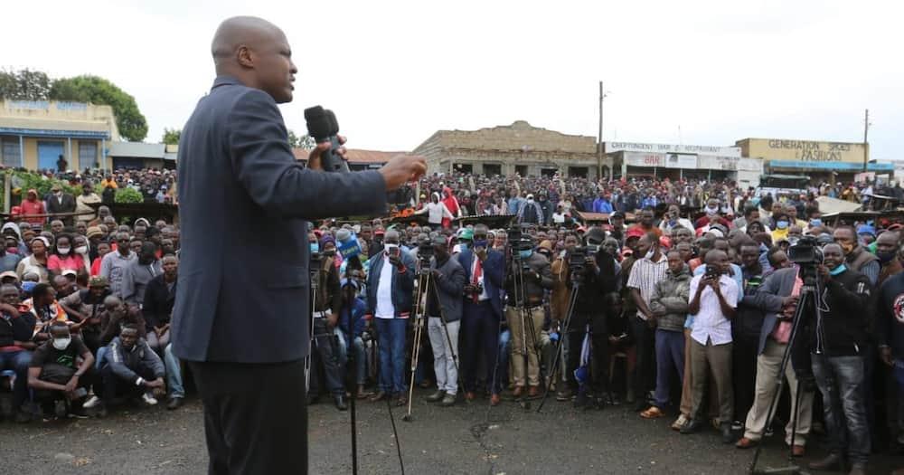 Alfred Keter ajipata pabaya ngome ya DP Ruto, wakazi wamfokea