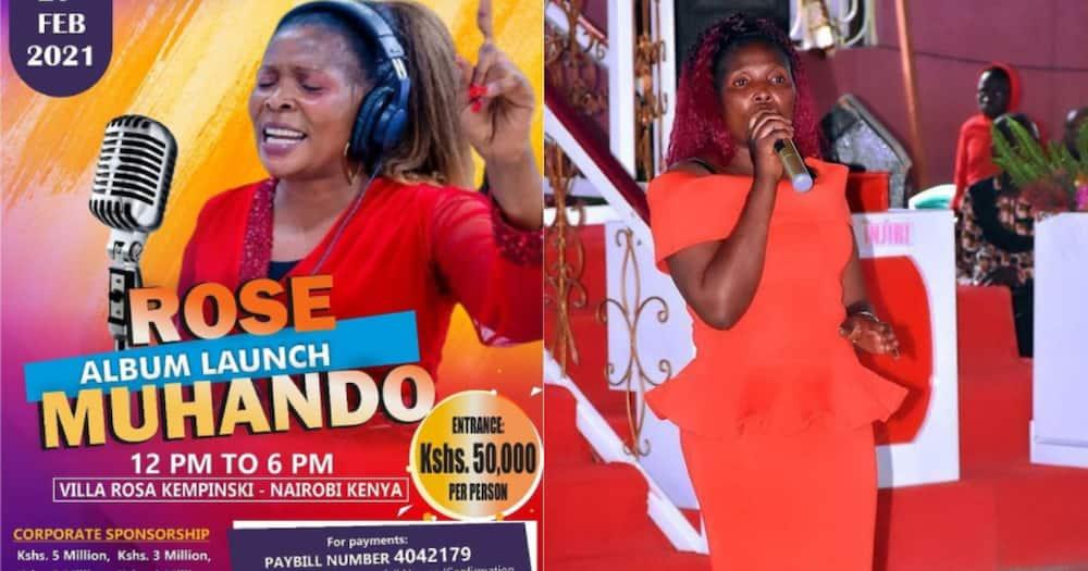 Rose Muhando to charge KSh 50k for upcoming concert at Villa Rosa