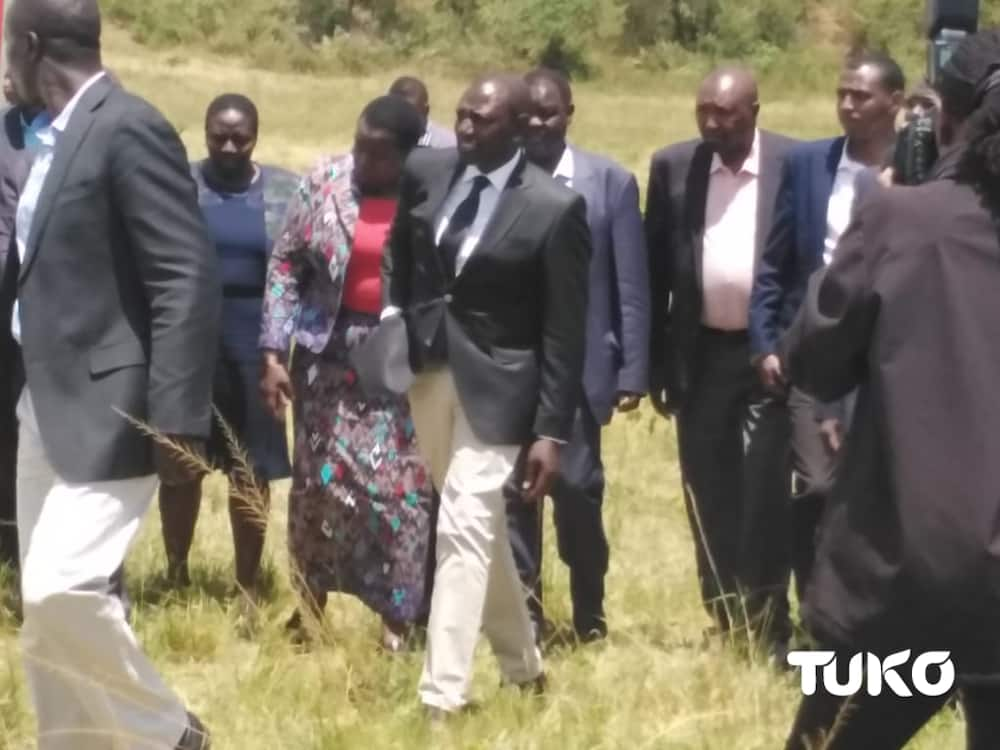 Rest in Peace Kenei: William Ruto present at slain officer's emotional funeral
