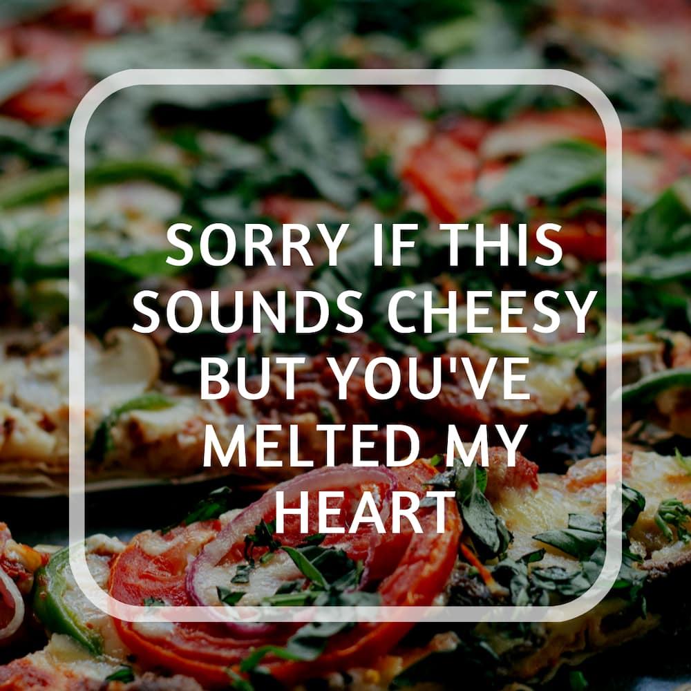 Funny pizza puns, quotes and sayings