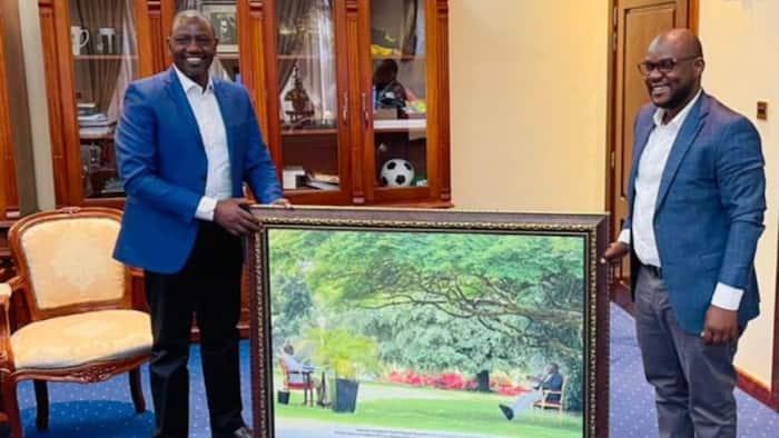 Uganda: Ikulu ya Museveni Yazawadi DP Ruto na Picha Kali