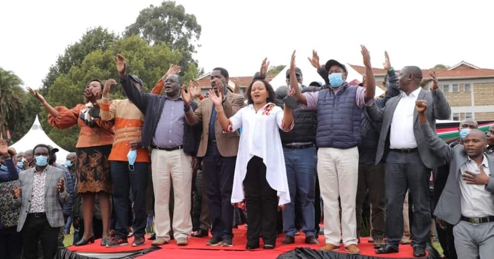 The leaders met in Meru on Saturday, July 24.