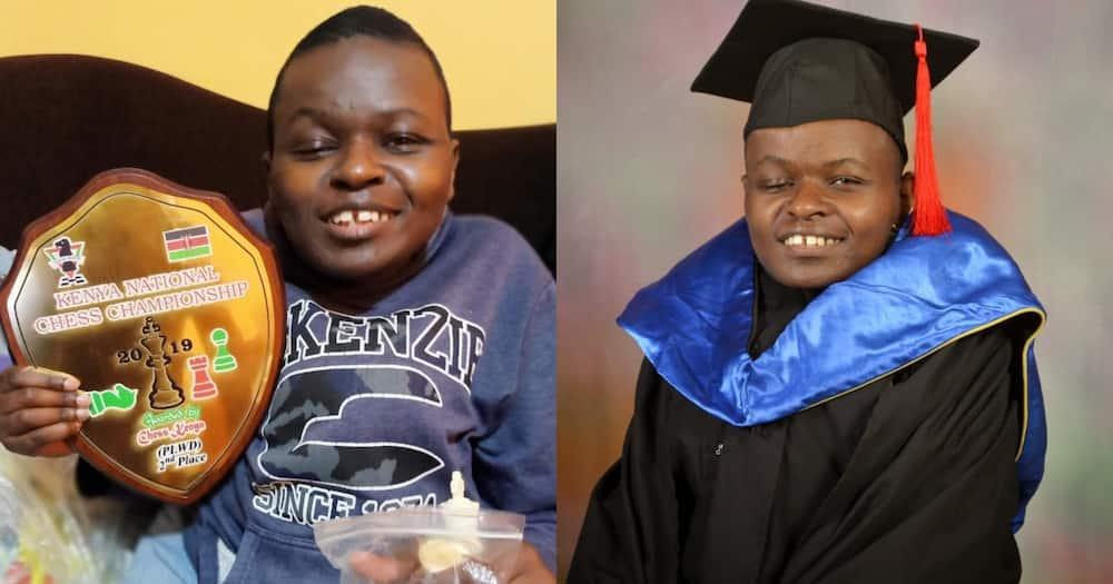 Robert Ndirangu died while undergoing treatment in hospital. Photo: Bernard Chiira.