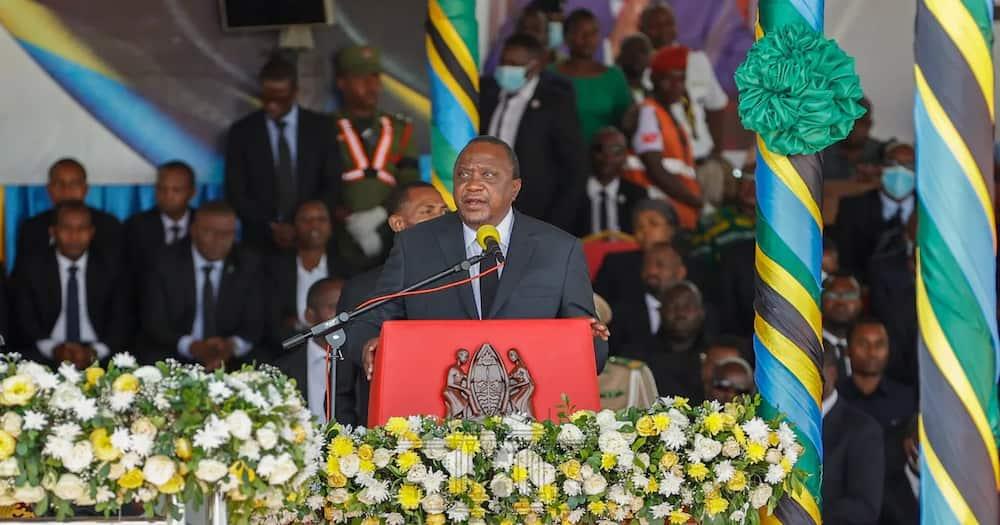 "Tanzanians Praise Uhuru, Say Kenyans Lucky to Have Him as President: ""Mmebarikiwa"""