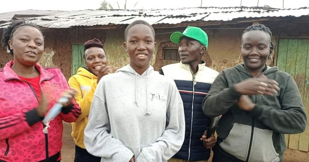 The Trans Nzoia girl scored 404 marks in 2020 KCPE.