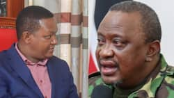 Alfred Mutua Welcomes Uhuru to Maendeleo Chap Chap Party after President's Night Working Tour