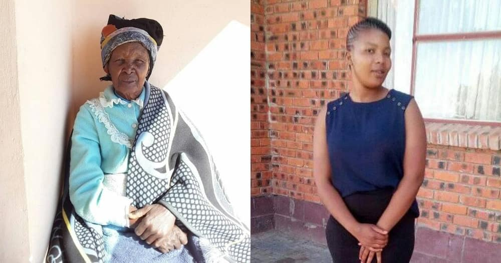 Woman grateful for great aunt, 91, who raised her after mother's death