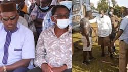 James Orengo, Otiende Amollo Watundika Miguu Mabegani Wakikimbia Vijana Wenye Hamaki
