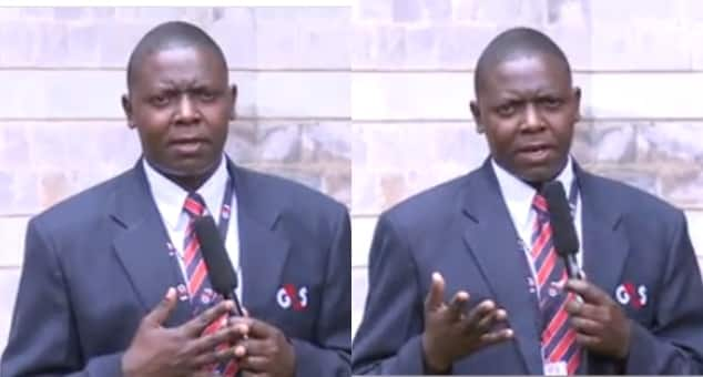 Security guard amazes Kenyans with outstanding news reporting in Swahili