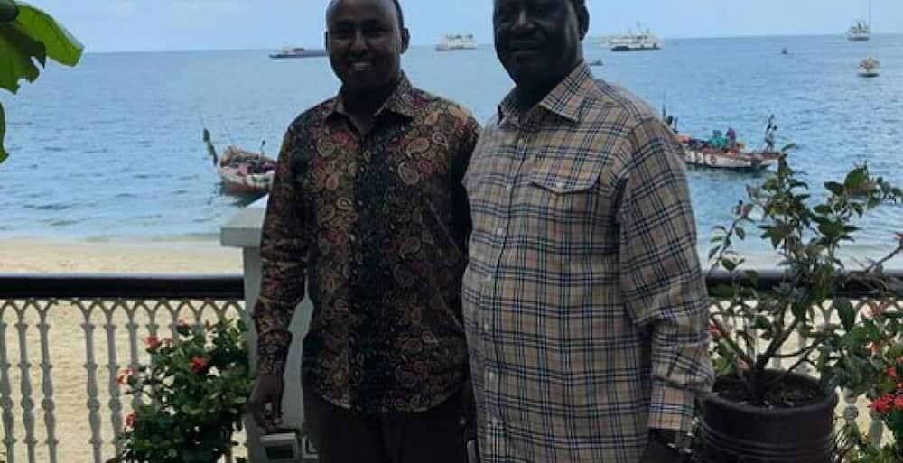 Raila Odinga kisiwani kufurahia Krisimasi
