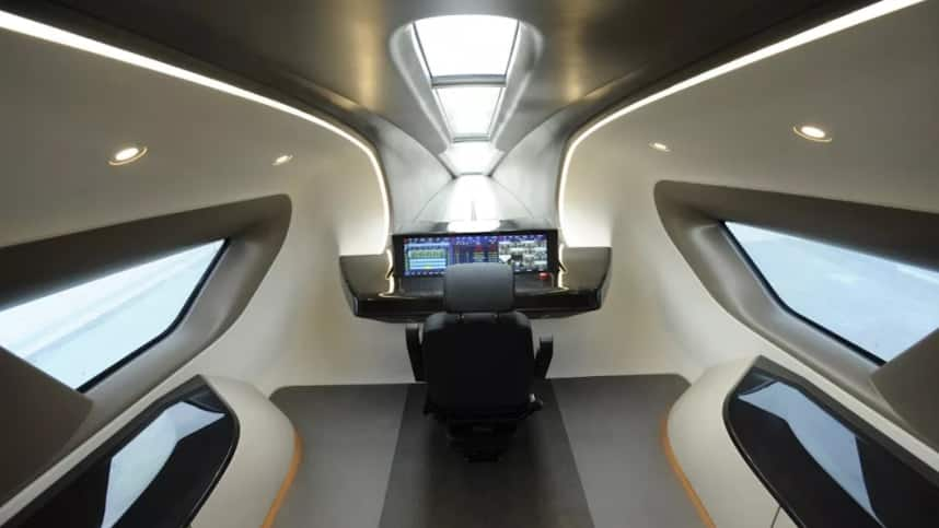 Chinese Bullet Train that is faster than an aircraft travels at 600km per hour