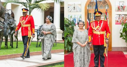 Jamhuri Day photos of Uhuru, wife looking like first time lovers