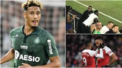 Arsenal summer target spotted with Aubameyang, Lacazette ahead of Emirates move
